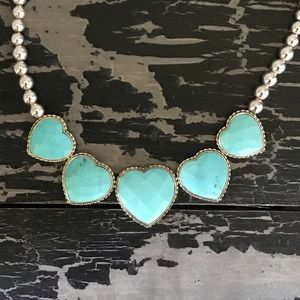 Desert Rose Trading Turquoise Heart Necklace